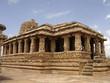Stone carved Hindu temple at Aihole, Karnataka