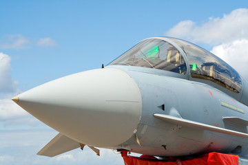 Eurofighter jetplane