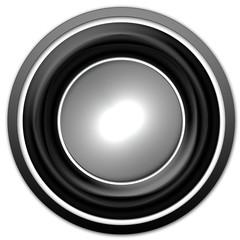 bouton web gris et noir