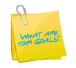 what are your goals post signs