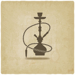 hookah old background
