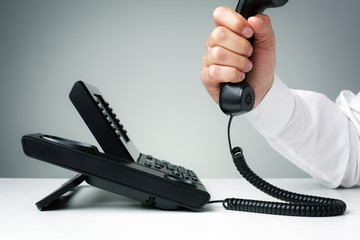Business landline telephone