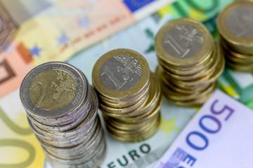 Monnaie unique européenne décroissante