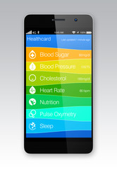 Healthcare app for smartphone