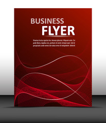 Professional business flyer template or corporate banner