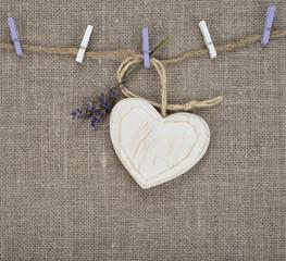 wooden heart