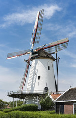 old mill in the dutch place Kloetinge