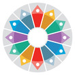 Color Wheel - Presentation template