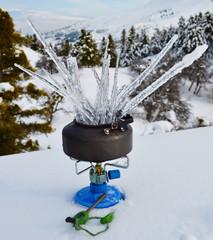 dağda buzlu çay keyfi
