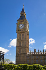 London, Big Ben and houses of parlament