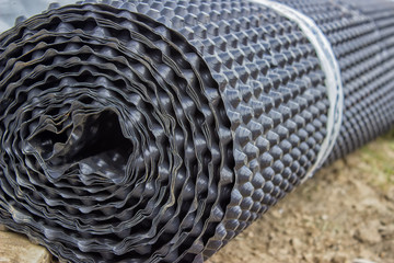Roll of insulation material