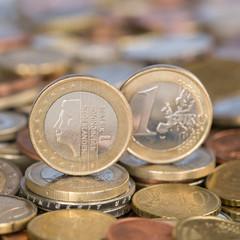1 Euro Münze aus Niederlande
