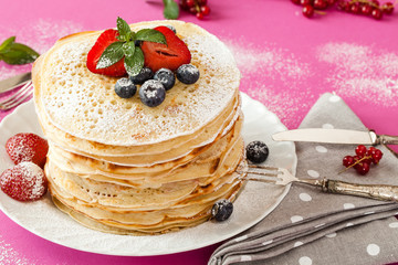 Soft Fruits Pancakes