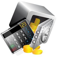 calculator of the money