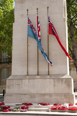 The Guards Memorial in Horse Guards Parade, London