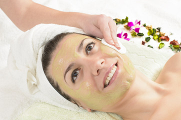 Facial Green Mask