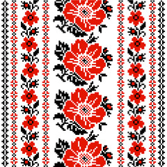 floral Ukrainian ornament