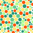 Seamless background with colorful dots