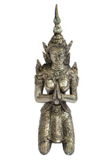 angel Silver carving model art in thailand