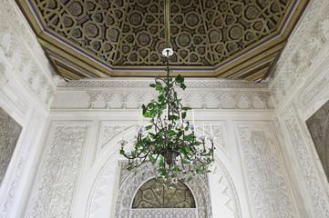 Old lamp chandelier