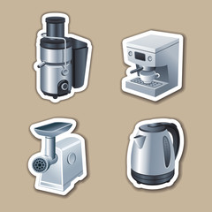 kitchenware stickers