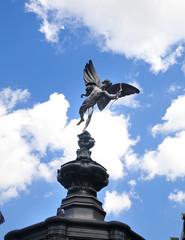 LONDON, UK - MAY 14, 2014: Piccadilly Circes