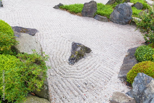 canvas print picture japanischer Garten