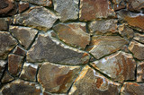 stonework abstract background poster