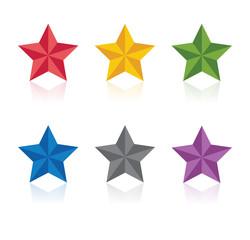 Stars. Vector illustration.