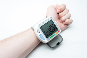 Digital blood pressure isolated