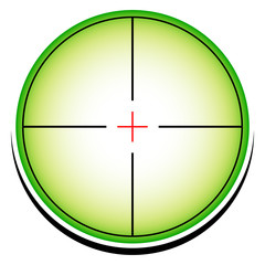 Conceptual reticle icon.