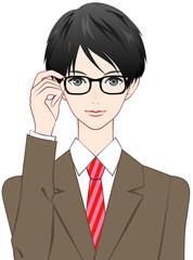 男性 眼鏡