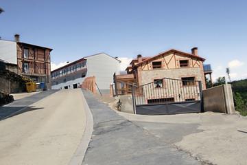 Calle de La Garganta de Baños, Valle del Ambrioz, España