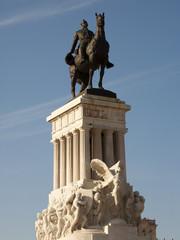 Major Maximo Gomez statue, Havana, Cuba
