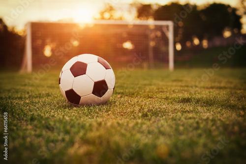 Soccer sunset - 66115658