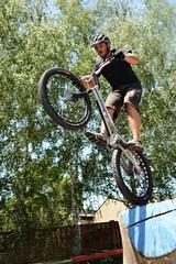 Biker Jumping