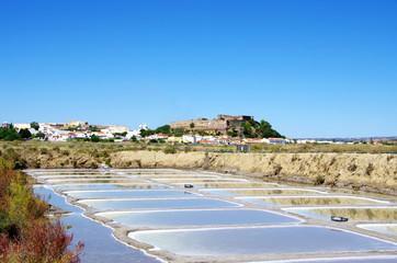 Castro Marim salines, Portugal