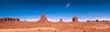 Leinwanddruck Bild - Monument Valley 01