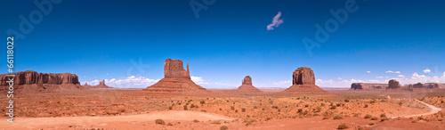 Leinwanddruck Bild Monument Valley 01