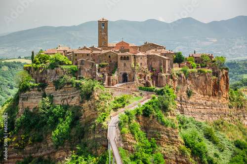 View of the old town of Bagnoregio - 66121082