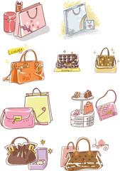Illustration of shopping