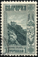 stamp printed in Bulgaria shows Asenov fortress