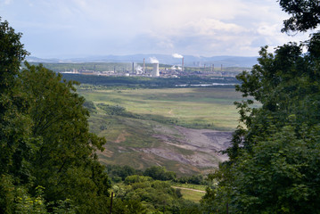 Land coal mining