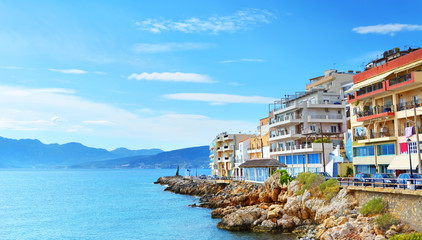 Agios Nikolaos. Crete.