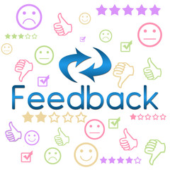 Feedback Colorful Symbols