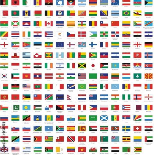 drapeaux des pays - 66129453