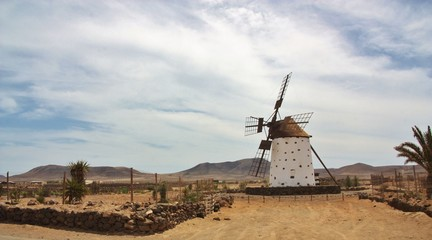 Windmill - Fuerteventura, Spain