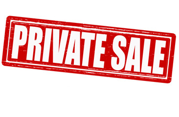 Private sale