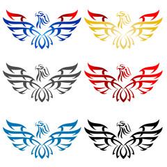логотип орел