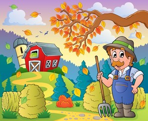 Autumn farm theme 9